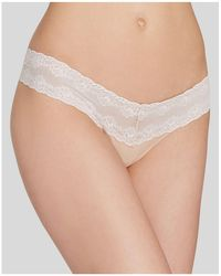 Natori - Bliss Perfection Thong - Lyst