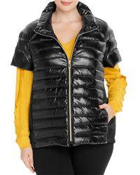 Marina Rinaldi Paella Short - Sleeve Down Jacket - Black
