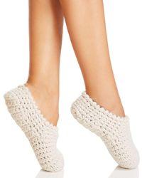 Eberjey Knit Ankle Slipper Socks - Multicolour
