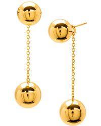 Gorjana - Newport Double Drop Earrings - Lyst