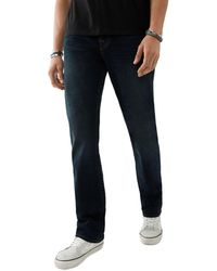 True Religion Ricky Straight Fit Jeans In Last Call - Blue