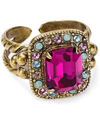 Sorrelli - Opulent Octagon Statement Ring - Lyst