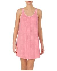 Kate Spade Dot Print Chemise Nightgown - Pink