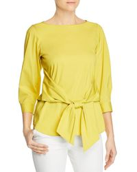 Lafayette 148 New York - Wixton Tie - Front Top - Lyst