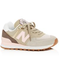 New Balance - Women's 574 Iconic Patch Low-top Sneakers - Lyst