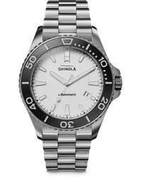 Shinola Ice Monster Watch - White