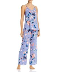 Josie The Siesta Cami Pyjama Set - Blue