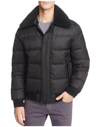 Andrew Marc - Pinnacle Puffer Bomber Jacket - Lyst