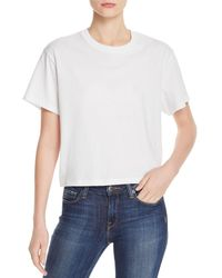 ATM - Classic Jersey Tee - Lyst