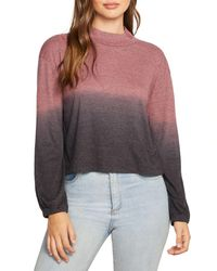Chaser Cropped Ombré Jumper - Multicolour