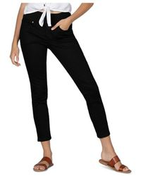 Jag Jeans Nora Pull On Skinny Jeans In Forever Black