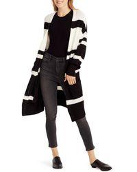 Ella Moss - Kimberly Color-blocked Long-line Cardigan - Lyst