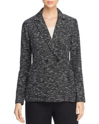 Eileen Fisher - Double-breasted Blazer - Lyst