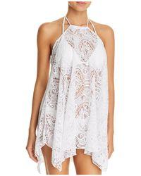 SOLUNA - Lace Dress Swim Cover-up - Lyst