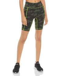 All Access Centre Stage Pocket Biker Shorts - Green