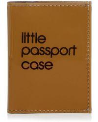 Bloomingdale's Little Passport Case - Brown