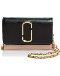 Marc Jacobs - Leather Chain Wallet - Lyst