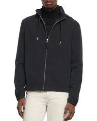 Sandro Orion Hooded Jacket - Blue