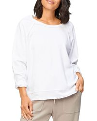 XCVI Gideon Pullover Sweater - White