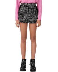 Maje Iaco Tweed Shorts - Black