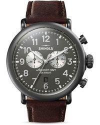 Shinola Runwell Chronograph - Grey