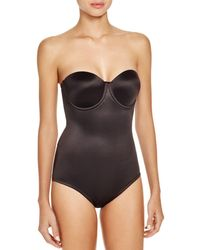 Tc Fine Intimates - Strapless Back Magic Bodybriefer - Lyst