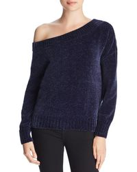 Three Dots - Chenille Off-the-shoulder Sweater - Lyst