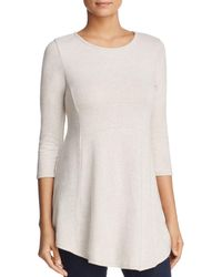 B Collection By Bobeau Brushed Tunic Top - Multicolor