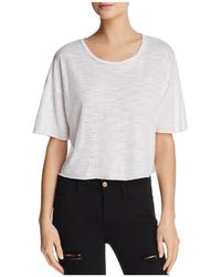 Project Social T - Kenzie Boxy Cropped Tee - Lyst