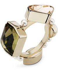 Atelier Swarovski - Fine Mosaic Ring - Lyst