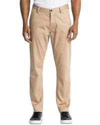 Wings + Horns Regular Fit Field Trousers - Natural