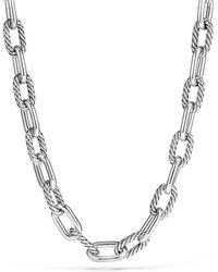David Yurman - Madison Large Link Necklace - Lyst