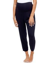 Nom Maternity Max Maternity Pajama/lounge Trousers - Black