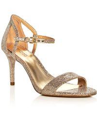 MICHAEL Michael Kors - Simone Glitter High-heel Sandals - Lyst