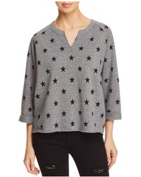 Alternative Apparel - The Champ Remix Star Print Sweatshirt - Lyst