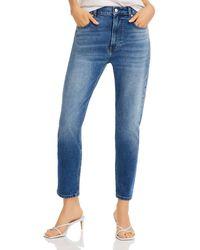 Aqua High - Rise Skinny Jeans In Medium Blue