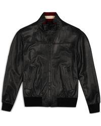Bally Leather Jacket - Black