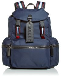 Bally Nylon Crew Backpack - Blue