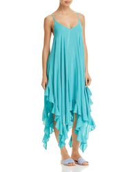Bleu Rod Beattie - Handkerchief-hem Dress Swim Cover-up - Lyst