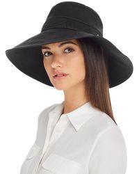 Helen Kaminski - Jenina Packable Hat - Lyst