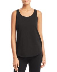 e520cb95d4 Lyst - Eileen Fisher The Fisher Project Drape Back Tank in White