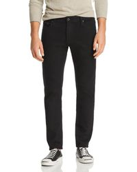AG Jeans Tellis Slim Fit Jeans In Mass - Black