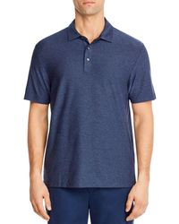 Vineyard Vines Edgart Striped Regular Fit Polo Shirt - Blue