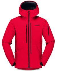 Norrøna Lofoten Gore Tex Pro Jacket - Red