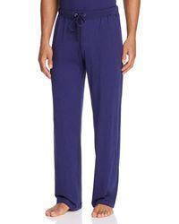 Daniel Buchler Peruvian Pima Cotton Lounge Pants - Black