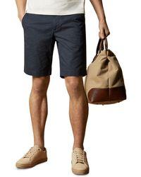 Ted Baker Mms Acqua Geo Print Shorts - Blue