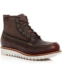 G.H. Bass & Co. - Men's Nickson Leather Hiking Boots - Lyst