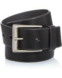 John Varvatos - Men's Bridle Leather Belt - Lyst