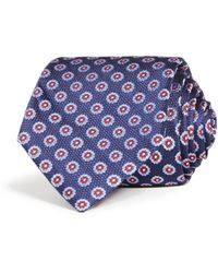 Bloomingdale's - Medallion Woven Silk Classic Tie - Lyst
