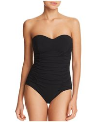 Gottex - Origami Bandeau One Piece Swimsuit - Lyst
